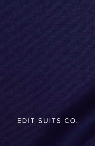classic navy twill suit
