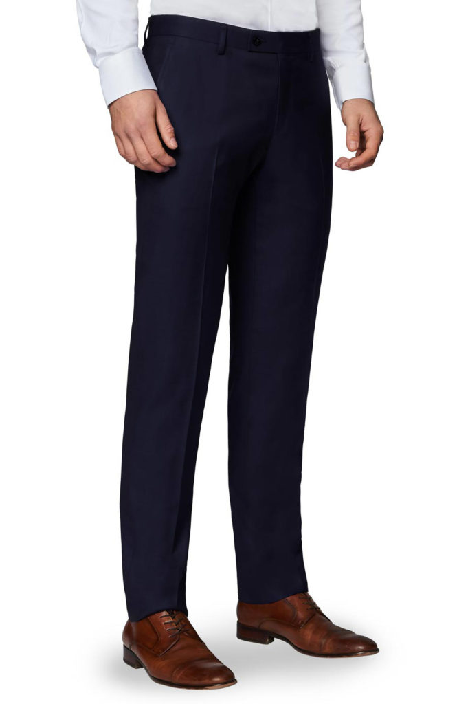 tailored wide leg trouser