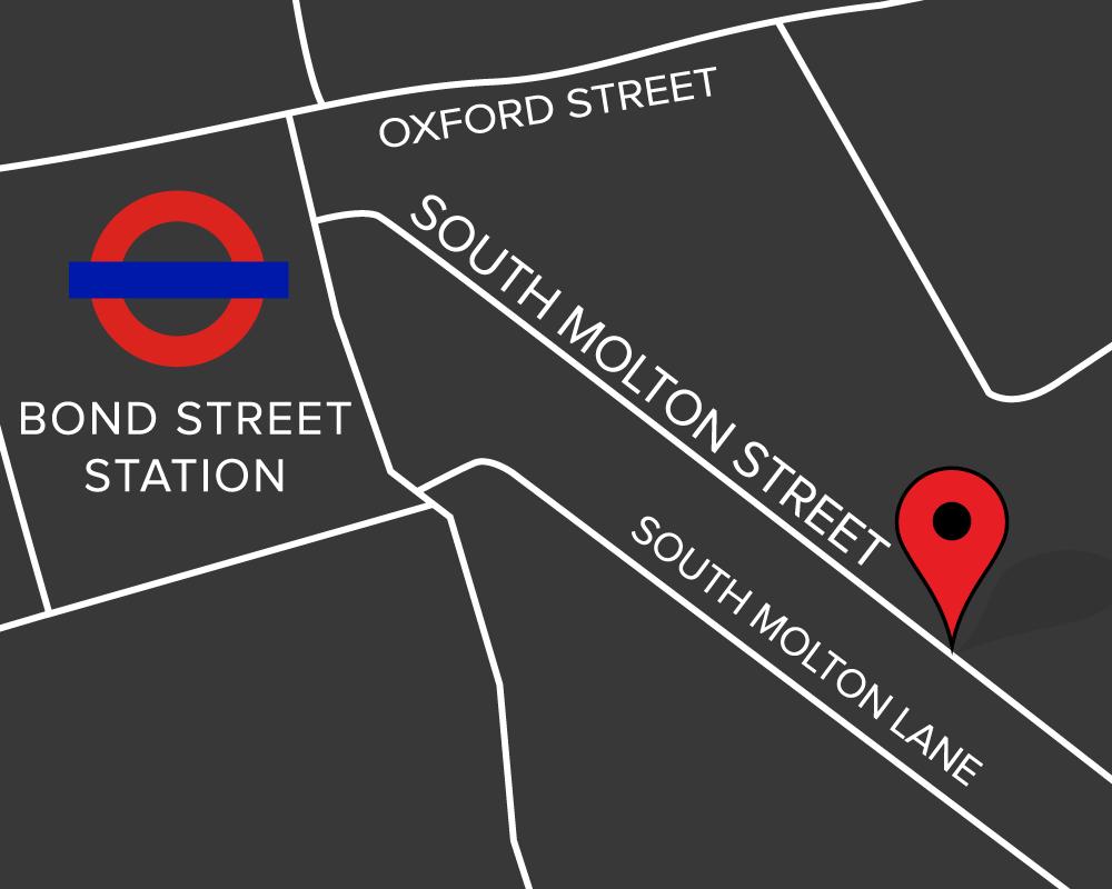 Bond Street map