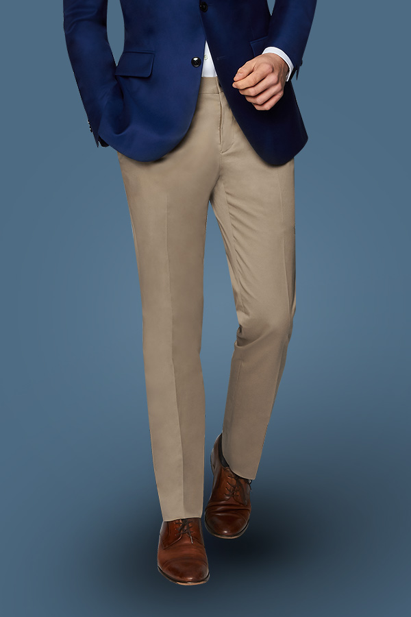 Chinos for Men | Khaki Trousers | Custom Tailored Mens
