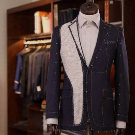 tailored double breasted suit singapore
