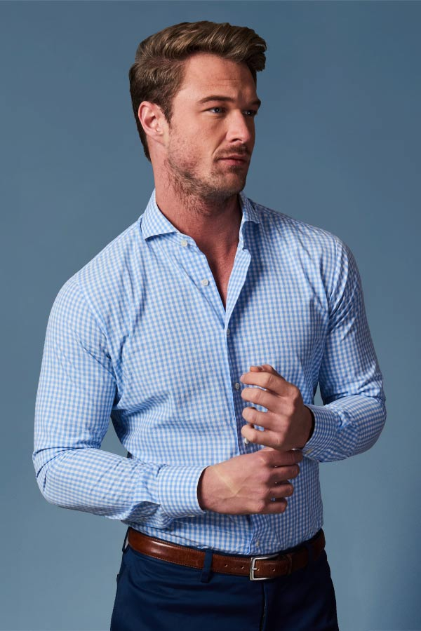 mens tailored shirts london edit suits co