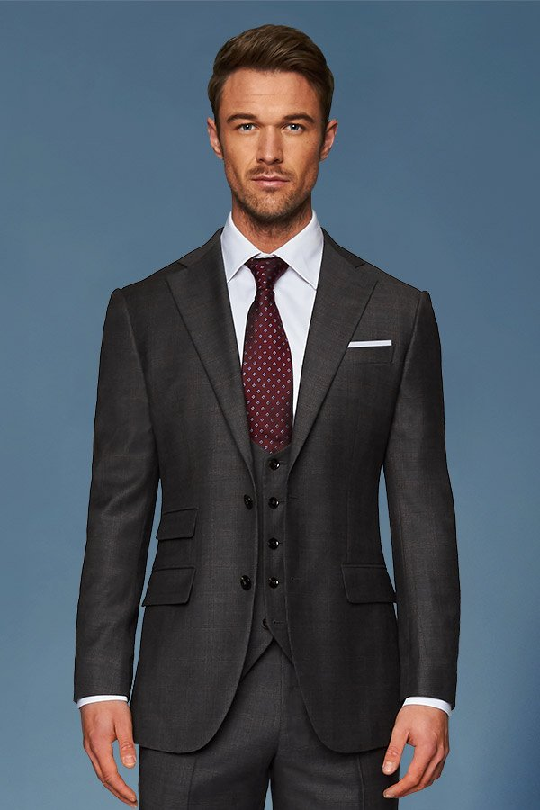 charcoal three piece suit edit suits co.