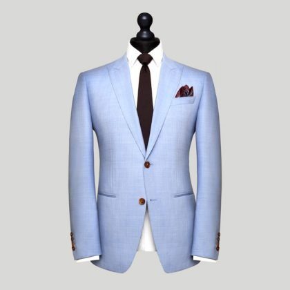 sky blue wedding suit