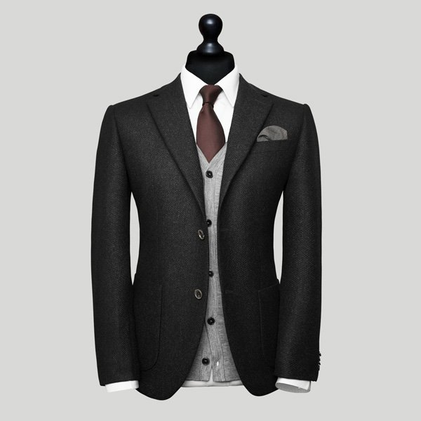 mens black wedding suit