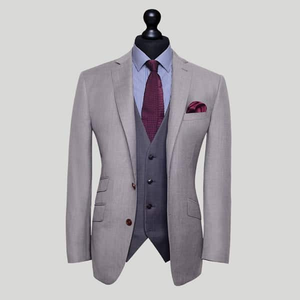 Grey 3 Piece Suit London