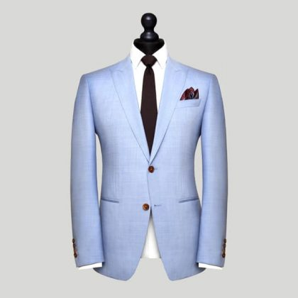 Light Blue Bespoke Suit