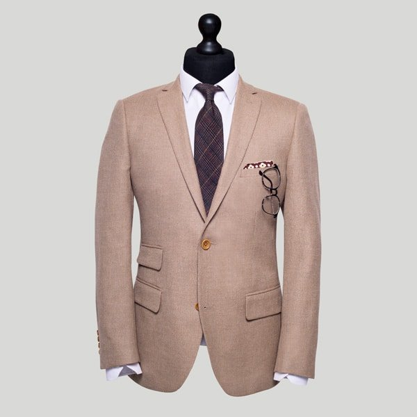 Brown Tailored Jacket