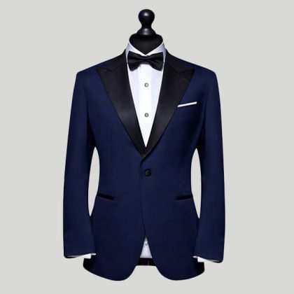 Dark Blue Wedding Suits London