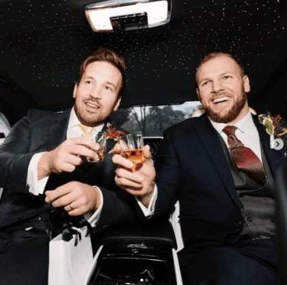 James Haskell edit suits wedding suit