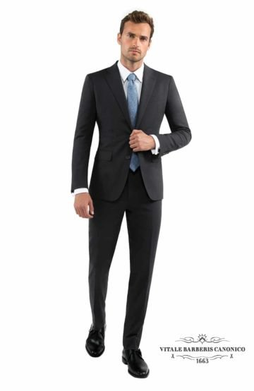 A vitale barberis canonico charcoal grey suit