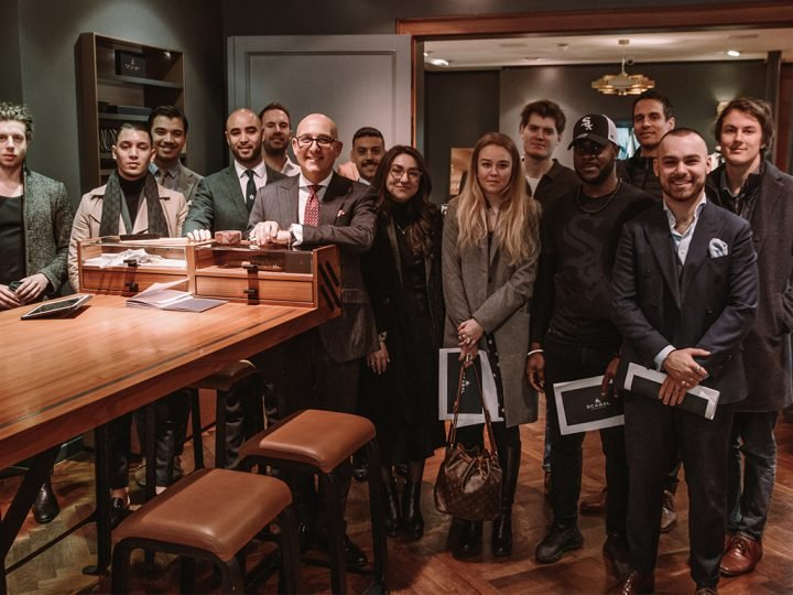 Edit Suits Tour of Scabal Flagship Store